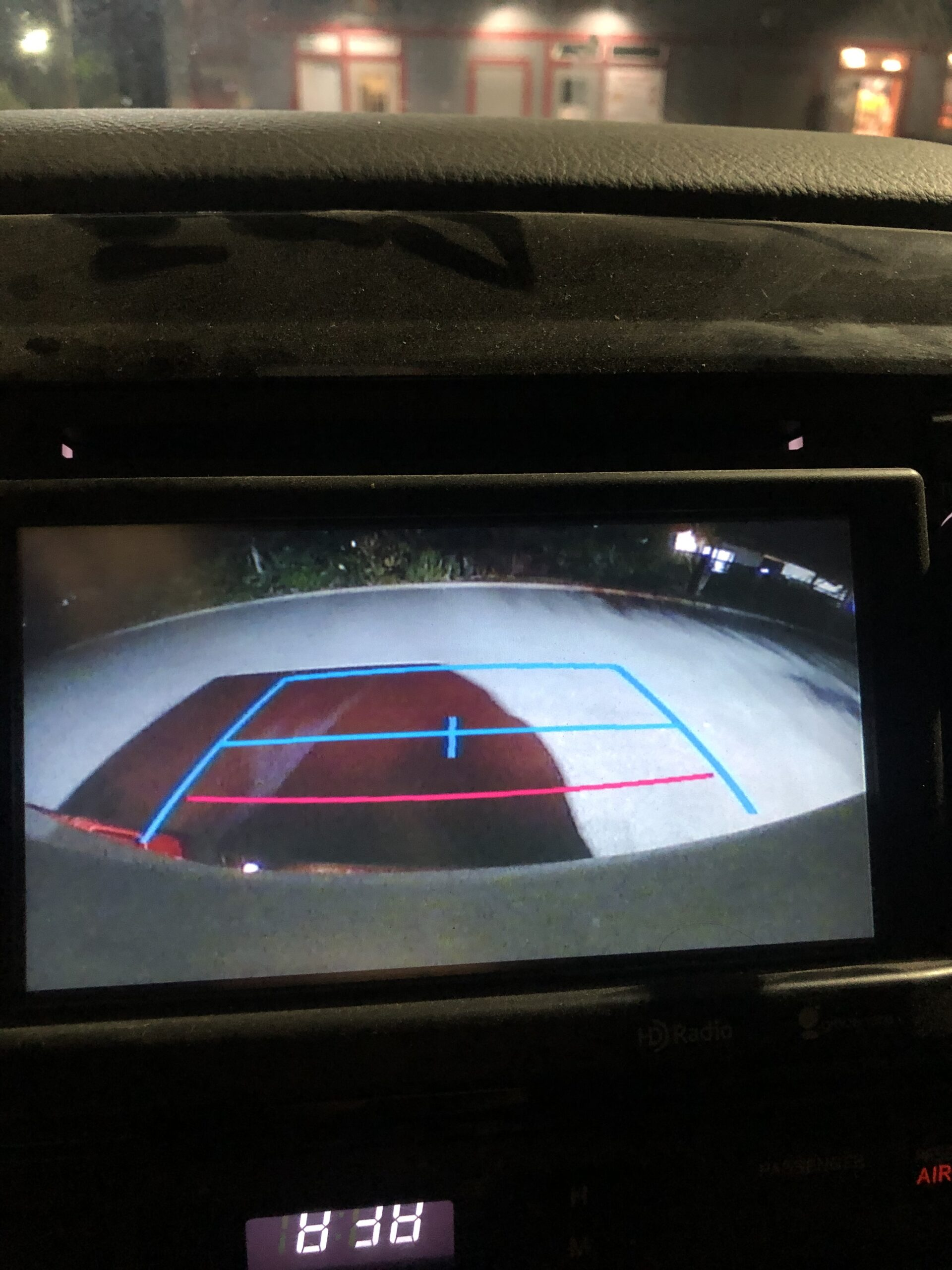 Wiring in a backup camera with factory harness